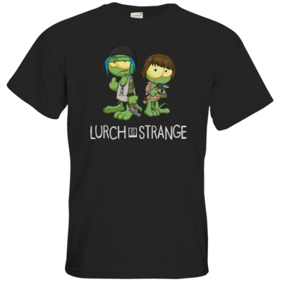 Motiv: T-Shirt Premium FAIR WEAR - Lurch is Strange Max & Chloe