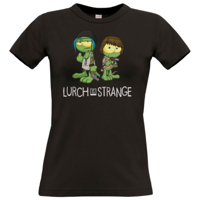 Motiv: T-Shirt Damen Premium FAIR WEAR - Lurch is Strange Max & Chloe