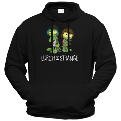 Motiv: Hoodie Premium FAIR WEAR - Lurch is Strange Max & Chloe