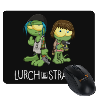 Motiv: Mousepad Textil - Lurch is Strange Max & Chloe