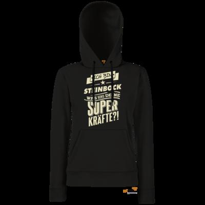 Motiv: Hoodie Damen Classic - Superkraefte Steinbock Sternzeichen