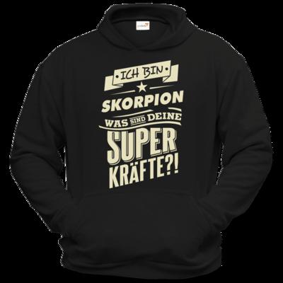 Motiv: Hoodie Classic - Superkraefte Skorpion Sternzeichen
