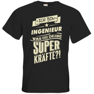 Motiv: T-Shirt Premium FAIR WEAR - Superkraefte Ingenieur