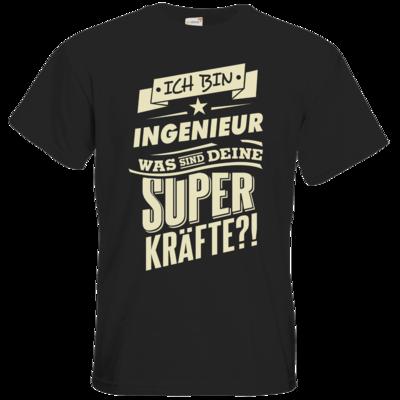 Motiv: T-Shirt Premium FAIR WEAR - Superkraefte Ingenieur