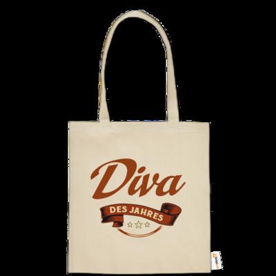 Motiv: Baumwolltasche - Diva des Jahres