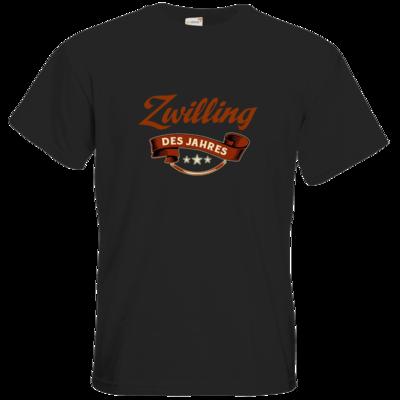 Motiv: T-Shirt Premium FAIR WEAR - Zwilling des Jahres