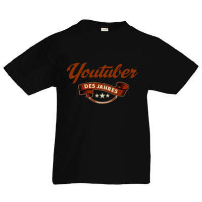 Motiv: Kids T-Shirt Premium FAIR WEAR - Youtuber des Jahres