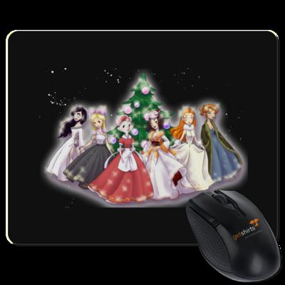 Motiv: Mousepad Textil - Hommage - Daedalic Princess