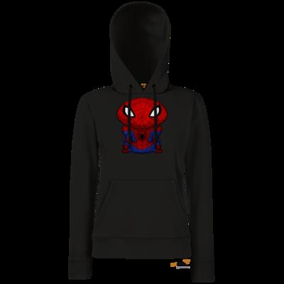 Motiv: Hoodie Damen Classic - Silence - SpiderSpot