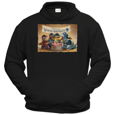 Motiv: Hoodie Classic - Hommage - Platypus Tales