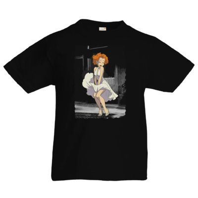 Motiv: Kids T-Shirt Premium FAIR WEAR - Hommage - Marylin Mongoal