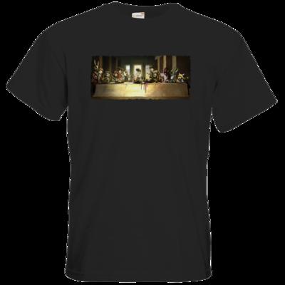 Motiv: T-Shirt Premium FAIR WEAR - Hommage - Abendmahl