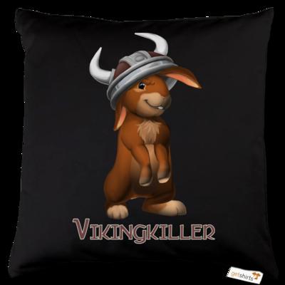 Motiv: Kissen Baumwolle - Valhalla Hills - Vikingkiller