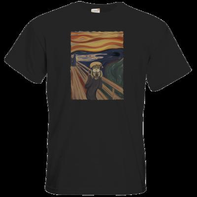 Motiv: T-Shirt Premium FAIR WEAR - Hommage - Der Schrei
