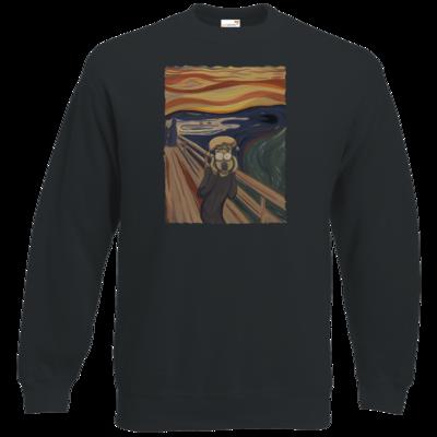 Motiv: Sweatshirt Classic - Hommage - Der Schrei
