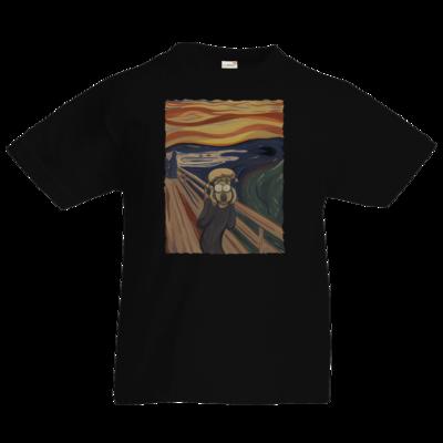 Motiv: Kids T-Shirt Premium FAIR WEAR - Hommage - Der Schrei