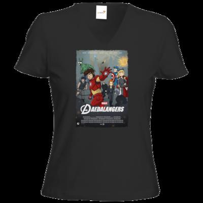 Motiv: T-Shirt Damen V-Neck Classic - Hommagen - Daedalangers
