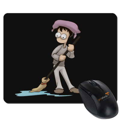 Motiv: Mousepad Textil - Edna bricht aus - Droggelbecher
