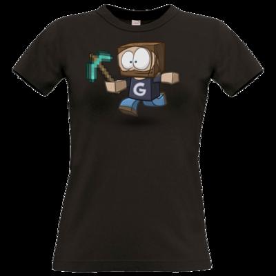 Motiv: T-Shirt Damen Premium FAIR WEAR - Gronkhcraft