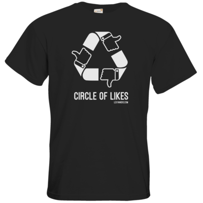 Motiv: T-Shirt Premium FAIR WEAR - Circle of Likes