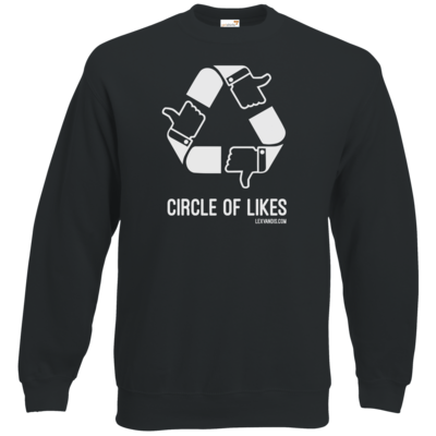 Motiv: Sweatshirt Classic - Circle of Likes