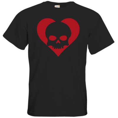 Motiv: T-Shirt Premium FAIR WEAR - Piratenherz