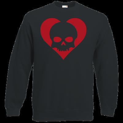 Motiv: Sweatshirt Classic - Piratenherz