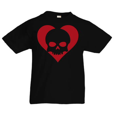 Motiv: Kids T-Shirt Premium FAIR WEAR - Piratenherz