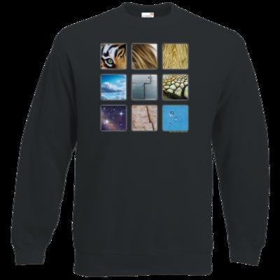 Motiv: Sweatshirt Classic - Texturen Quadrate
