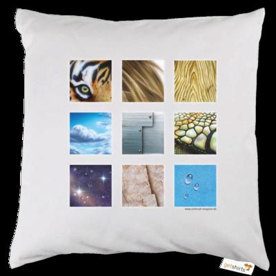 Motiv: Kissen - Texturen Quadrate