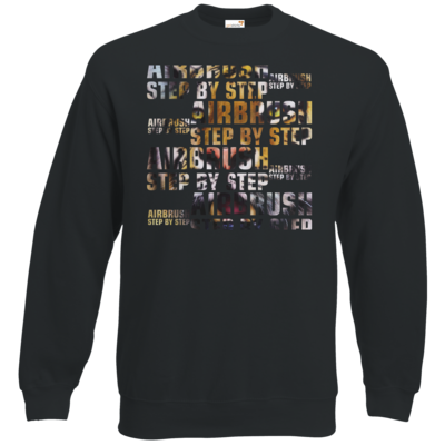 Motiv: Sweatshirt Classic - Airbrush Tiger 2
