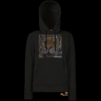 Motiv: Hoodie Damen Classic - Airbrush Tiger