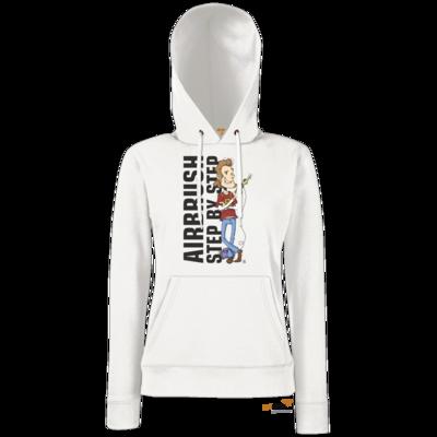 Motiv: Hoodie Damen Classic - Airhard Step BY Step Logo