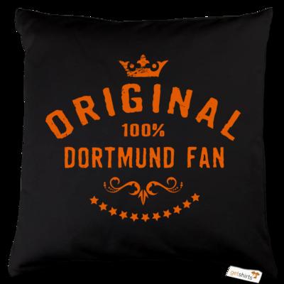 Motiv: Kissen Baumwolle - Staedte Dortmund-Fan