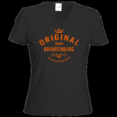 Motiv: T-Shirt Damen V-Neck Classic - Staedte Brandenburg