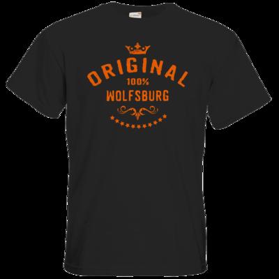 Motiv: T-Shirt Premium FAIR WEAR - Staedte Wolfsburg