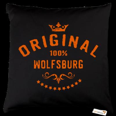 Motiv: Kissen Baumwolle - Staedte Wolfsburg