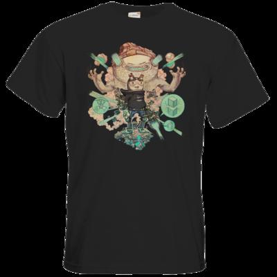 Motiv: T-Shirt Premium FAIR WEAR - T&B Cover Painted