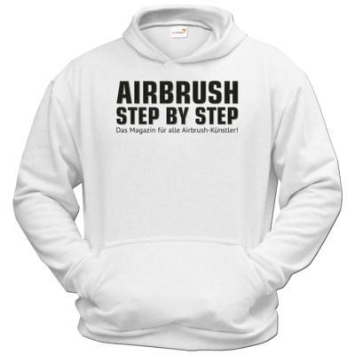 Motiv: Hoodie Classic - Airbrush Step BY Step Slogan