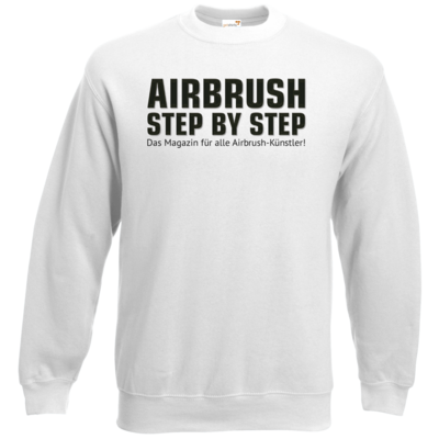 Motiv: Sweatshirt Classic - Airbrush Step BY Step Slogan