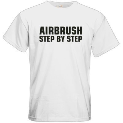 Motiv: T-Shirt Premium FAIR WEAR - Airbrush Step By Step Logo