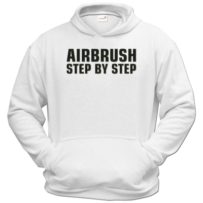Motiv: Hoodie Classic - Airbrush Step By Step Logo