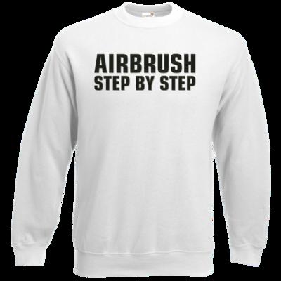 Motiv: Sweatshirt Classic - Airbrush Step By Step Logo