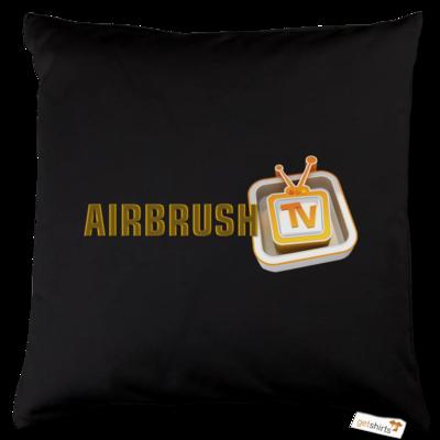 Motiv: Kissen Baumwolle - Airbrush TV