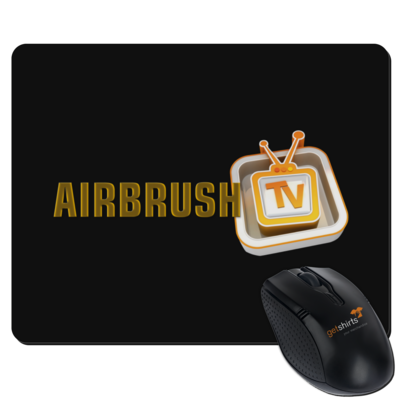 Motiv: Mousepad Textil - Airbrush TV