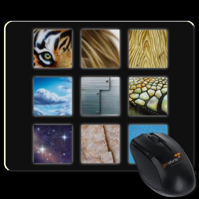 Motiv: Mousepad Textil - Texturen Quadrate