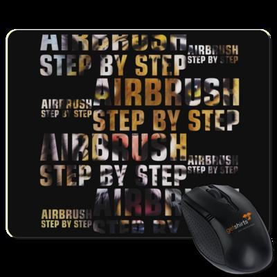 Motiv: Mousepad Textil - Airbrush Tiger 2