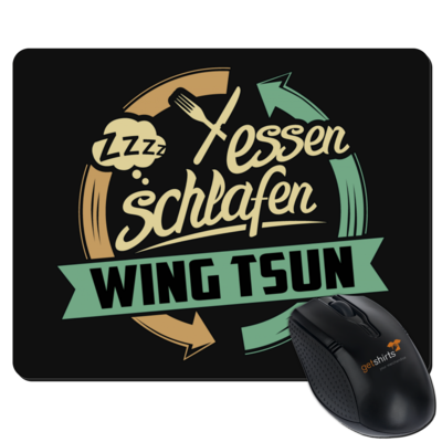 Motiv: Mousepad Textil - Sport Wing Tsun