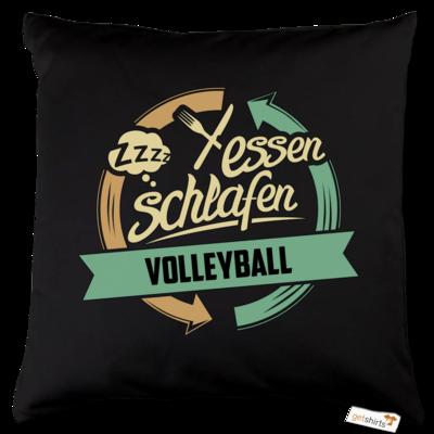 Motiv: Kissen Baumwolle - Sport Volleyball