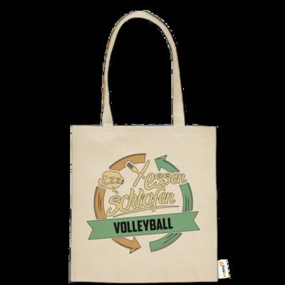Motiv: Baumwolltasche - Sport Volleyball